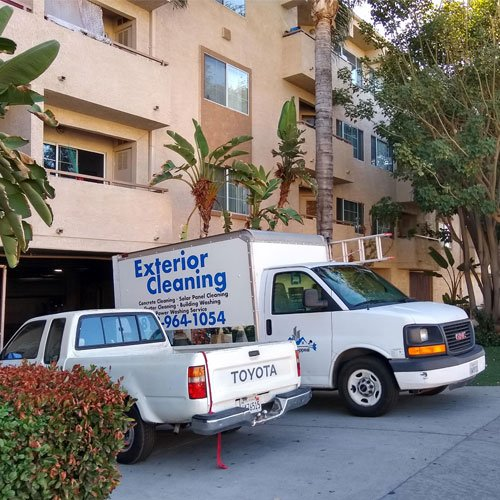 Sweeping Parking Lot and Garage Cleaning Los Angeles