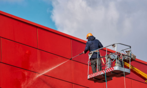 6 Benefits of Commercial Pressure Washing