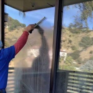 Robert Cleaning Windows